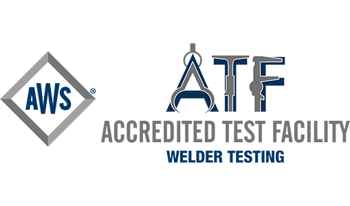 Accredited Test Facility - American Welding Society logo